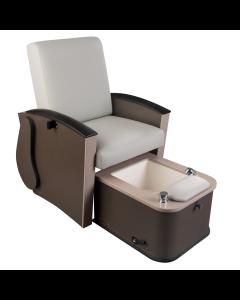 Mystia™ Manicure / Pedicure Chair with Footbath Options