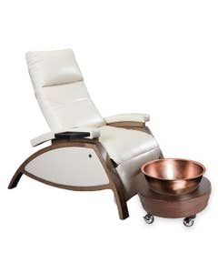 ZG Dream™ Lounger Pedicure Package (incl. Pedi Roll Up and Manicure Side Trays)